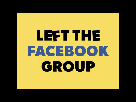 How To Left Facebook Groups