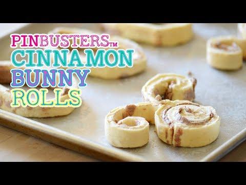 Easter Cinnamon Roll Cinnabunnies // DO THESE WORK?