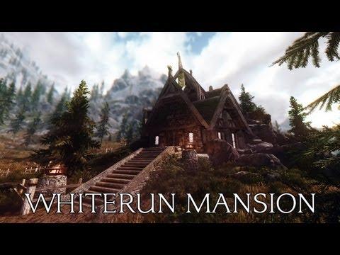 TES V - Skyrim Mods: Whiterun Mansion