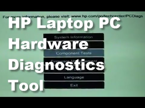 How to Install and Run HP Laptop PC Hardware Diagnostics Tool