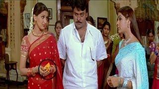 Aarthi Agarwal \u0026 Sonali Bendre Best Movie Scene | #chiranjeevi | Vendithera