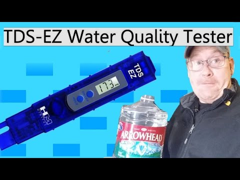 Cheap clean drinking water; TDS Meter to test for purity