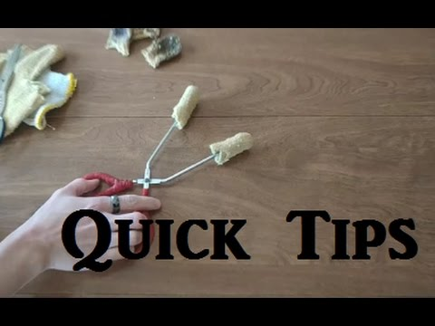 How to Make Low-Cost Scratch-Free Tongs