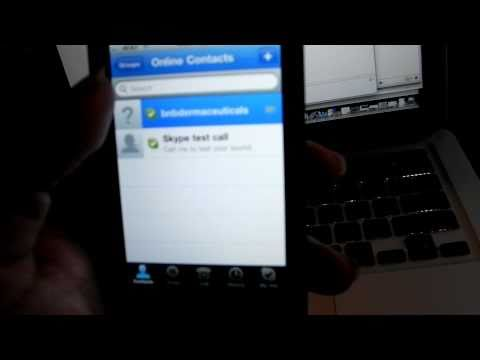 skype video call iphone 4 ipod touch  Ipad 3G 3GS Review
