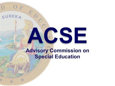 ACSE Meeting October 11, 2017