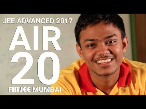 MY SECRETS TO CRACK JEE | AIR 20 | RAHUL BHARDWAJ | IIT JEE ADVANCED 2017 | | FIITJEE MUMBAI