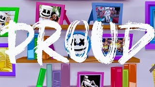 Marshmello - Proud (Official Lyric Video)