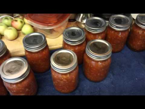 Homemade Salsa!!!! with recipe
