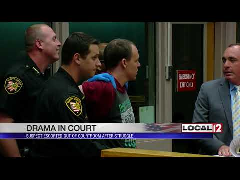 Man charged after tickle fight gets violent causes scene in court