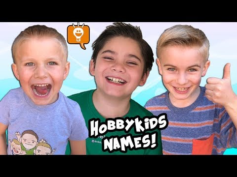 How HobbyKids Got Their NAMES!