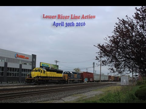 A Short Outing On CSX's River Line: April 30th 2016