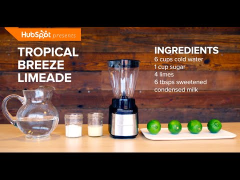 Thirsty | Tropical Breeze Limeade