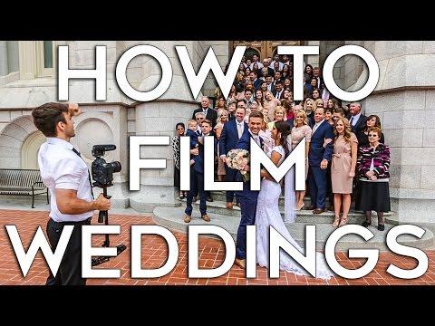 How to Film A Wedding | Job Shadow