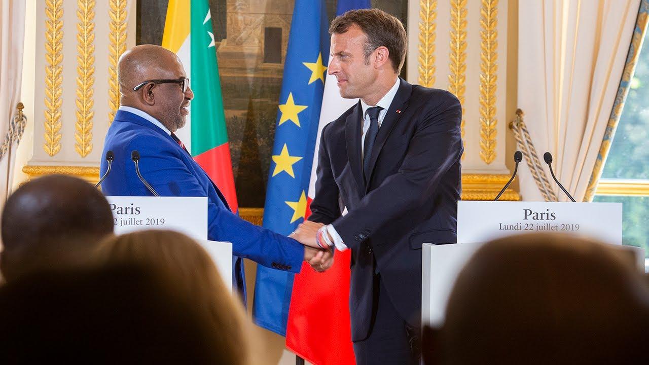 Conférence de presse avec Azali Assoumani, Président de l'Union des Comores