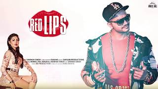 Red lips (Motion Poster) Vaibhav Singh | Releasing on 17th May | White Hill Music