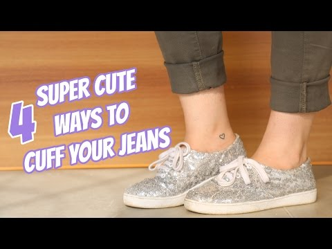 4 Super Cute Ways To Cuff Your Jeans