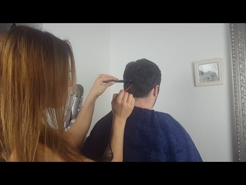 ASMR Scalp Care / Treatment *Massage, Trimming, Brushing, Washing, Cutting*