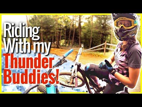 Birthday Shred With All My Thunder Buddies! | Mountain biking at Thunder Mountain Bike Park