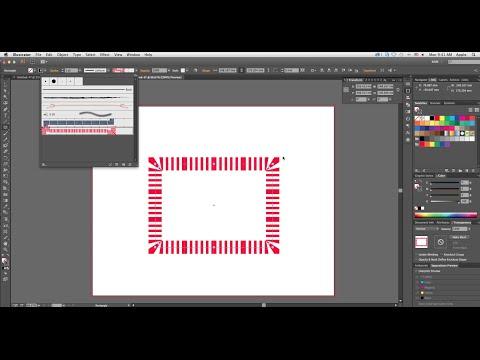 How to create Pattern Brush or Art Brush in Adobe illustrator CC