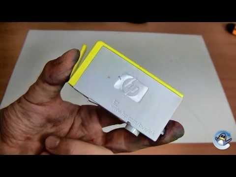 Inside HP 364 Yellow Setup Ink Cartridge