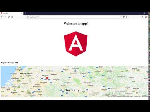 Angular 4 5 And 6 Google Map With API Key,-P2GZ - VideosTube