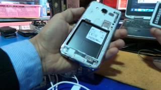 #x202b;طريقة فك شفرة سامسونج Samsung Galaxy J5 J500fn Root Unlock Z3x#x202c;lrm;