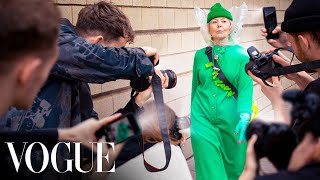 We made a Grandma Famous at Fashion Week (Featured in Vogue)