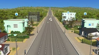 When City Planning in Cities Skylines creates a city with only one road