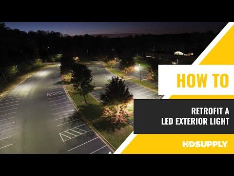 LED HID Exterior Lighting Retrofit - HD Supply Facilities Maintenance