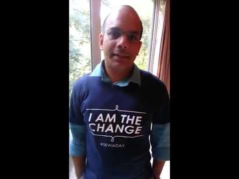 YGL: Alok Kshirsagar - Director, McKinsey & Company supports Sewa Day 2014
