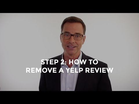 How to Remove a Yelp Review (Step 2)