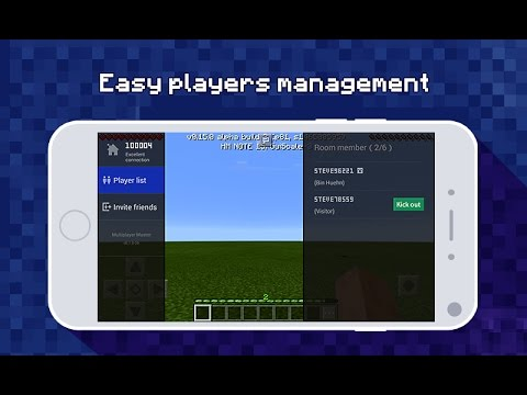 CREATE YOUR OWN SERVER FOR FREE USING Multiplayer Master for MCPE | MINCERAFT PE  ( POCKET EDITION )