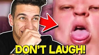 IMPOSSIBLE TRY NOT TO LAUGH CHALLENGE! (YouTuber Edition)