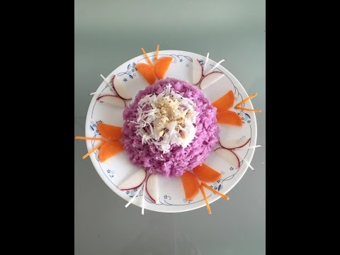 How to decorate food plate with butterflies