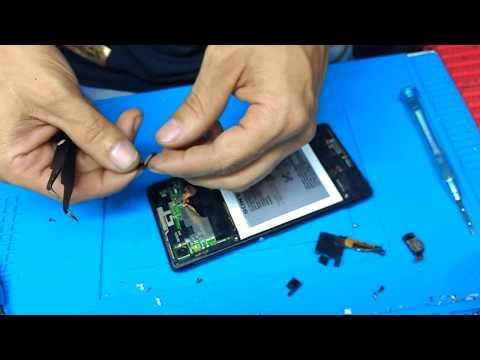 ComoTrocar conector de carga Sony M4 água