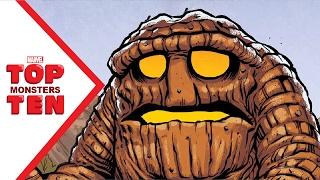 Marvel Top 10 Monsters!