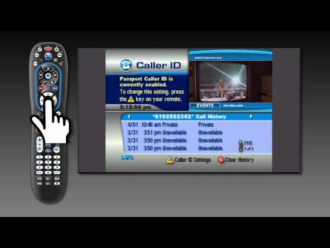 How to set up your caller ID on your TV - Rovi | Cox Digital Telephone