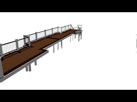 Trex deck Animation