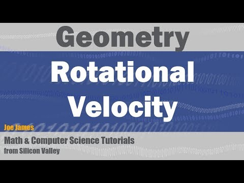 Converting Rotational Motion to Linear Velocity