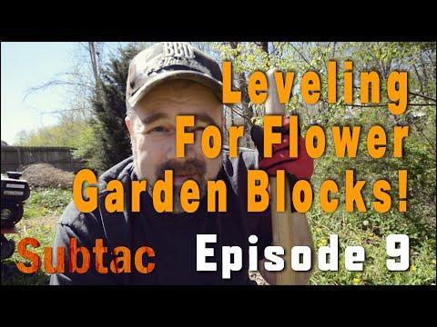 Leveling for Flower Garden Blocks