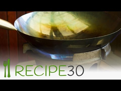 How to season a new wok for Asian recipes