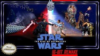 Super Star Wars Episode IX: The Rise of Skywalker- 16-bit Trailer Remake