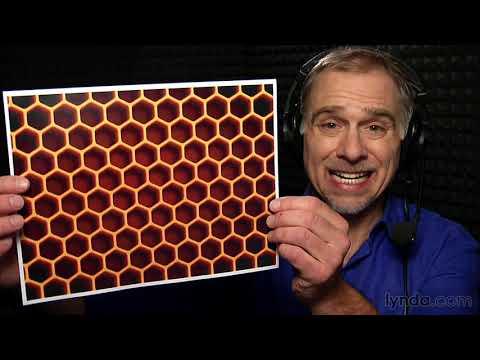 Illustrator tutorial: Creating a honeycomb pattern in Illustrator | lynda.com