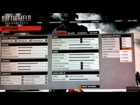 Hp envy 17 running BFBC2 MAXXED out, f310 gamepad