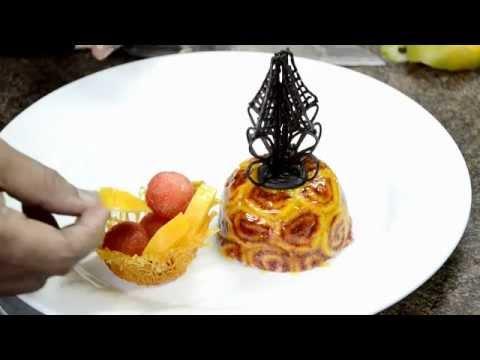 Recipe for Healthy Life - Mango Charlotte