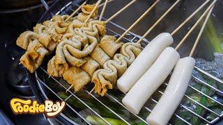 Download Fish Cake and Rice Cake / Korean Street Food / 87 Tteok-Bokki & Dak Bal, Busan Korea Video