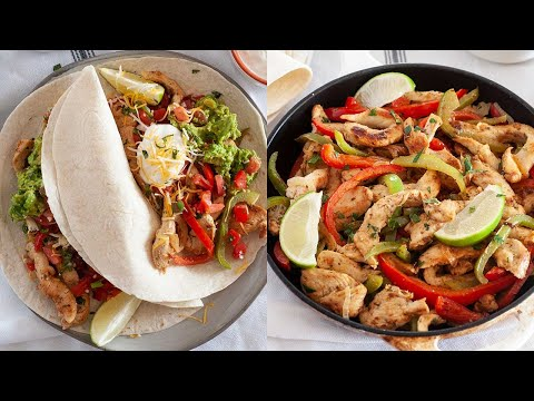 How to Make Restaurant Style Chicken Fajitas at Home