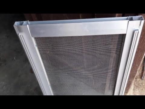 How to make net fiting aluminium window door