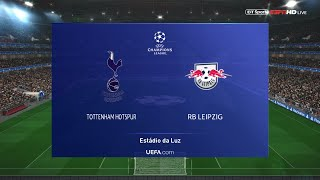 Tottenham vs RB Leipzig 20-02-2020| Champions league 2020 gameplay
