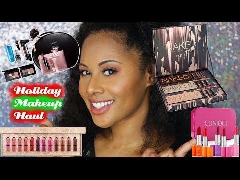Huge Holiday Makeup Haul